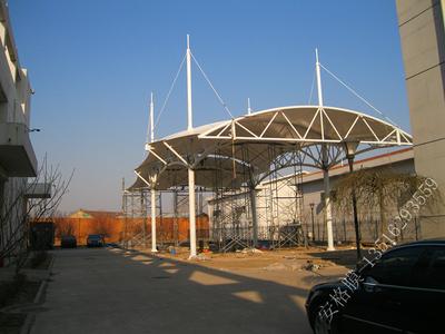 膜结构罩棚