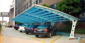 YG (6)阳光板车棚
