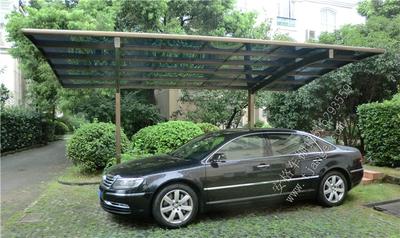 单侧铝合金车棚