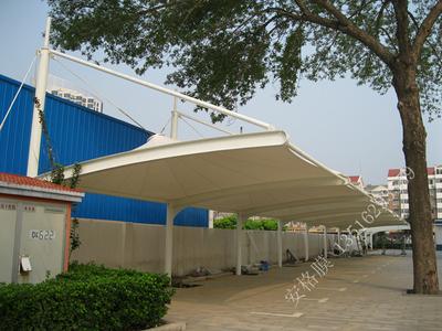 天津河北区公安局车棚